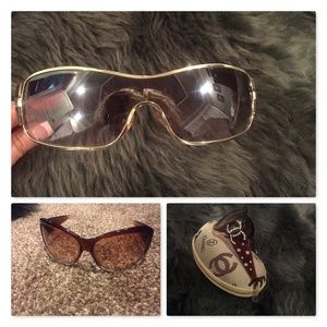 Budget (2) sunglasses with designer inspired case